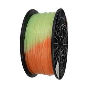 3D Printer PLA Filament - color change Orange/Yellow