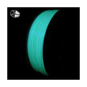 3D Printer PLA Filament - Glow in the Dark, Blue