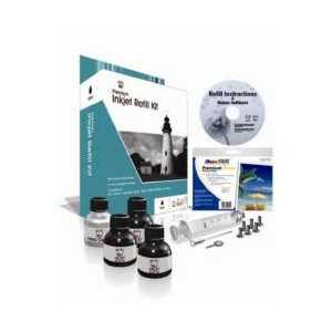 Uni-Kit Black Inkjet Refill Kit - 96ml black ink