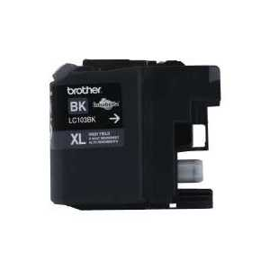 Original Brother LC103BK XL Black ink cartridge, High Yield