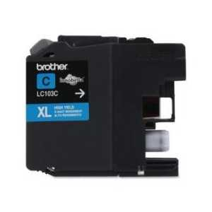 Original Brother LC103C XL Cyan ink cartridge, High Yield