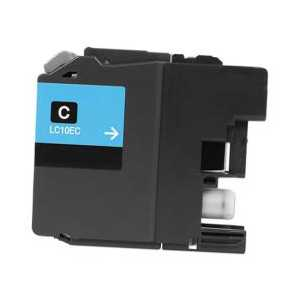 Compatible Brother LC10EC XXL Cyan ink cartridge, Super High Yield