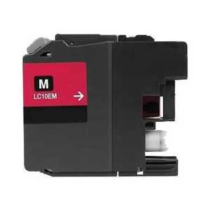 Compatible Brother LC10EM XXL Magenta ink cartridge, Super High Yield