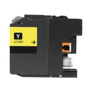Compatible Brother LC10EY XXL Yellow ink cartridge, Super High Yield