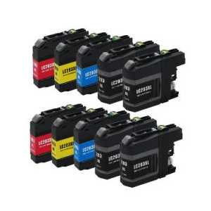 Compatible Brother LC203 XL ink cartridges, High Yield, 10 pack