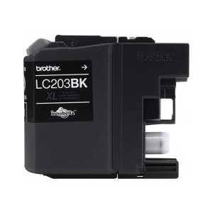 Original Brother LC203BK XL Black ink cartridge, High Yield