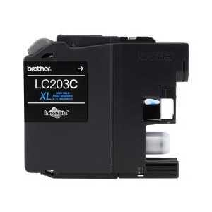 Original Brother LC203C XL Cyan ink cartridge, High Yield