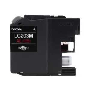 Original Brother LC203M XL Magenta ink cartridge, High Yield