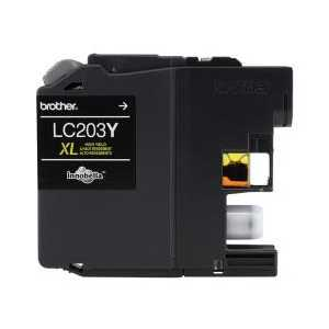 Original Brother LC203Y XL Yellow ink cartridge, High Yield
