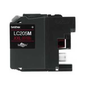 Original Brother LC205M XXL Magenta ink cartridge, Super High Yield