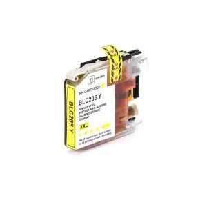 Compatible Brother LC205Y XXL Yellow ink cartridge, Super High Yield