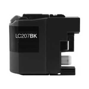 Compatible Brother LC207BK XXL Black ink cartridge, Super High Yield
