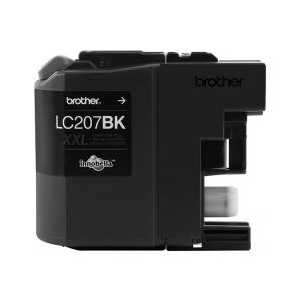Original Brother LC207BK XXL Black ink cartridge, Super High Yield