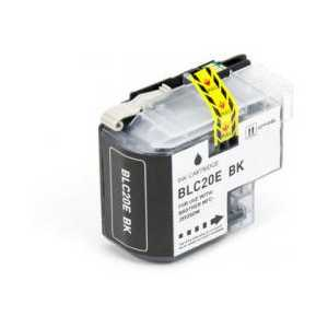 Compatible Brother LC20EBK XXL Black ink cartridge, Super High Yield