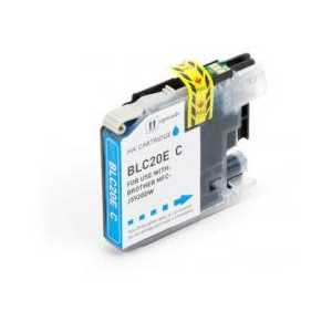 Compatible Brother LC20EC XXL Cyan ink cartridge, Super High Yield