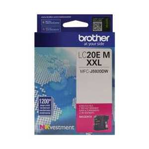Original Brother LC20EM Magenta ink cartridge, Super High Yield