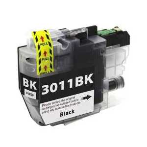 Compatible Brother LC3011BK Black ink cartridge