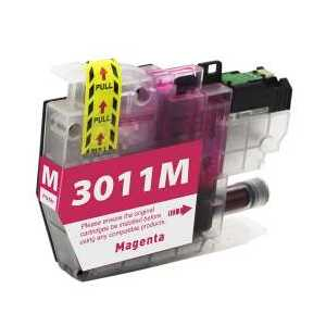 Compatible Brother LC3011M Magenta ink cartridge