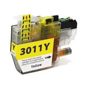 Compatible Brother LC3011Y Yellow ink cartridge