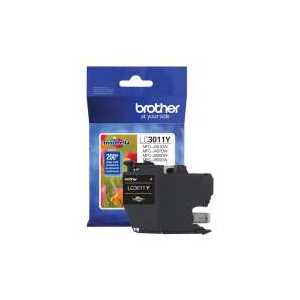 Original Brother LC3011Y Yellow ink cartridge