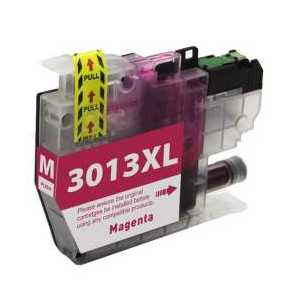 Compatible Brother LC3013M XL Magenta ink cartridge, High Yield