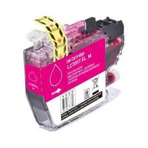 Compatible Brother LC3017M XL Magenta ink cartridge, High Yield