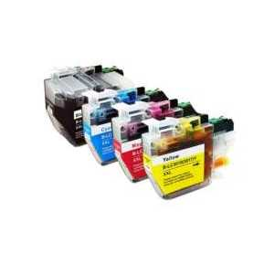 Compatible Brother LC3019 XXL ink cartridges, Super High Yield, 4 pack