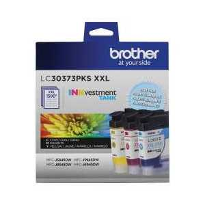 Original Brother LC3019 ink cartridges, LC30193PK, 3 pack