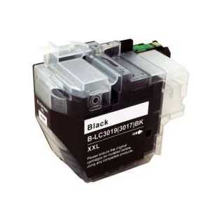 Compatible Brother LC3019BK XXL Black ink cartridge, Super High Yield