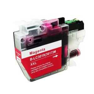 Compatible Brother LC3019M XXL Magenta ink cartridge, Super High Yield