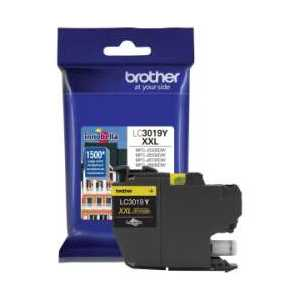 Original Brother LC3019Y XXL Yellow ink cartridge, Super High Yield