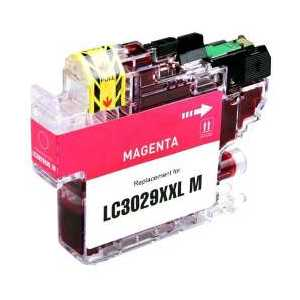 Compatible Brother LC3029M XXL Magenta ink cartridge, Super High Yield