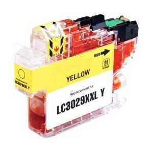 Compatible Brother LC3029Y XXL Yellow ink cartridge, Super High Yield