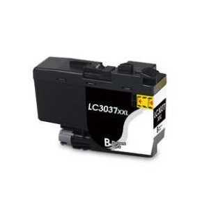 Compatible Brother LC3037BK XXL Black ink cartridge, Super High Yield