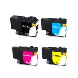 Compatible Brother LC3039 XXL ink cartridges, Ultra High Yield, 4 pack