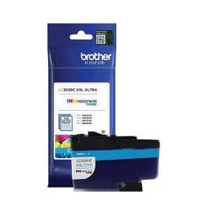 Original Brother LC3039C XXL Cyan ink cartridge, Ultra High Yield