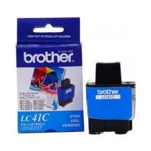 Original Brother LC41C Cyan ink cartridge