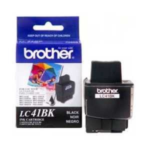 Original Brother LC41HYBK Black ink cartridge, High Yield