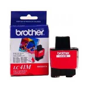 Original Brother LC41M Magenta ink cartridge