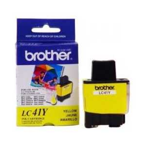 Original Brother LC41Y Yellow ink cartridge