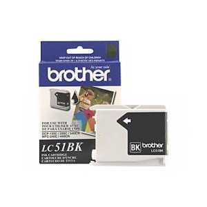 Original Brother LC51BK Black ink cartridge