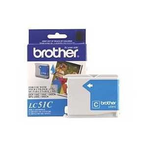 Original Brother LC51C Cyan ink cartridge