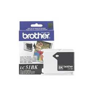Original Brother LC51HYBK Black ink cartridge, High Yield