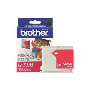 Original Brother LC51M Magenta ink cartridge