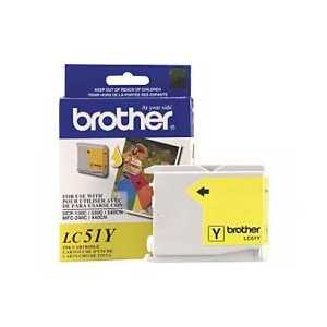 Original Brother LC51Y Yellow ink cartridge