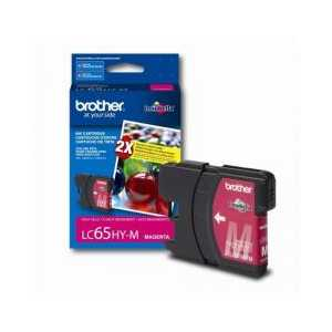 Original Brother LC65HYM Magenta ink cartridge, High Yield