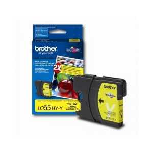 Brother LC65HYY Yellow genuine OEM ink cartridge