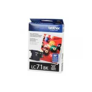 Original Brother LC71BK Black ink cartridge
