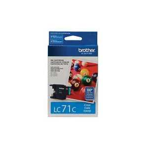 Original Brother LC71C Cyan ink cartridge