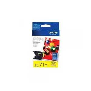 Original Brother LC71Y Yellow ink cartridge